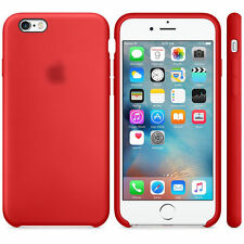 Ultra-Thin Genuine Silicone Leather Soft Case Cover For Apple iPhone 7 / 7 Plus