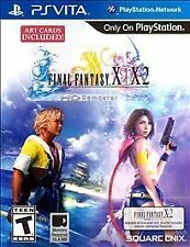 Final Fantasy X|X-2 HD Remaster (FF X-2 as download only) PSV New PlayStation Vi