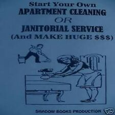 Start ur Own Apartment Cleaning/Janitorial Service book
