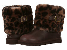 100% Authentic Ugg Ellee Animal Boots Size 11 US Kids, EU 28, NIB