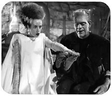 "BRIDE OF FRANKENSTEIN MOUSE PAD 1/4"" NOVELTY MOUSEPAD"