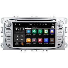 Ford Focus Mk2 argent Android 5.1 head unit radio DAB gps gps wifi stereo dvd