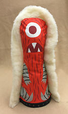 "Tim Biskup SIGNED 15"" Red Helper White Ver. Circus Punks AUTOGRAPHED LE 50 2004"