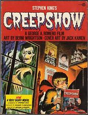 Stephen King's Creepshow (1982) Adrienne Barbeau Signed, Illus. Berni Wrightson