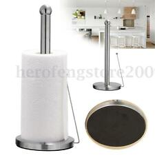 Stainless Steel Paper Tissue Towel Roll Holder Kitchen Organiser Dispenser Stand