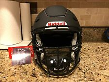 Riddell Revo SPEED FLEX Football Helmet Matte Black w/ Facemask Adult Large