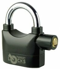 Multi-Purpose Alarmed Padlock with 110dB Siren Alarm / Motion Sensor