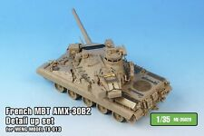 Tetra Model 1/35 #ME-35029 French MBT AMX-30B2 Detail Up Set for Meng Model