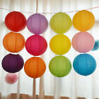 """Multicolor Chinese paper Lanterns Wedding Party Decoration 10"""" 12"""" 16"""" Lovely"""