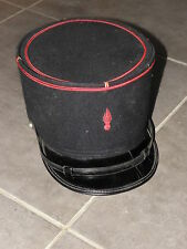 Beret Cap Hat Helmet fireman french FEUERWEHRHELM HELM FIRE HEL vintage original