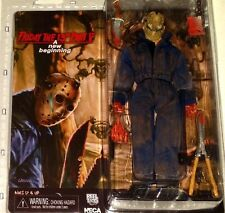 NECA Friday 13th part 5 JASON VOORHEES New Beginning retro cloth action figure