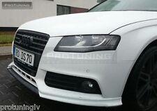 Audi A4 B8 08-12 Front Bumper spoiler S line lip Valance addon S-Line abt Votex
