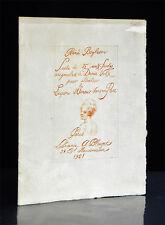 RENÉ BOYLESVE 15 RÖTEL- RADIERUNGEN VON DENIS VOLX PARIS BLAIZOT 1921 #7