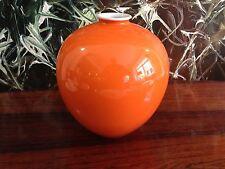 FÜRSTENBERG Edition Möller, Vase - Höhe 20cm in Orange