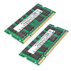 Memoria Ram 4GB 2x2GB DDR2-800 PC2-6400 800Mhz Laptop Notebook SODIMM 200-pin