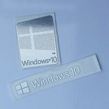 Windows 10 Combo Logo Metal Sticker for Computer/Laptop PC USA Seller Free Ship!