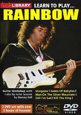 LICK LIBRARY LEARN TO PLAY RAINBOW GUITAR 2 DVD SET