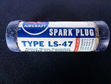 AC / CHAMPION Aircraft SPARK PLUG - Part # LS-47 - War Bird - PACKARD  MERLIN