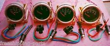 New Gauges set, VDO type, Oil, Temp, Fuel, Volt  12V system - Chrome Bezel