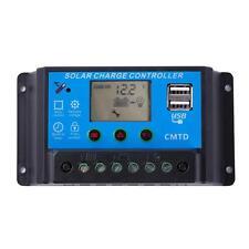 LCD USB 10A 12/24V Energia Solare Regolatore Di Carica Batteria Protezione G2