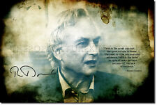 RICHARD DAWKINS ART PRINT PHOTO POSTER GIFT ATHEISM SCIENCE