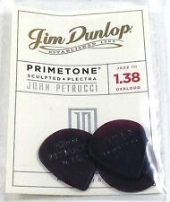 Dunlop John Petrucci Signature Guitar picks Primetone | 3 picks | Jazz | Oxblood