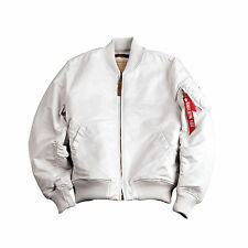 white flight jacket | eBay