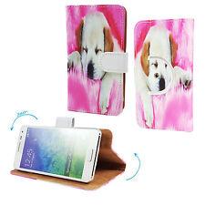 ARCHOS 50c Platinum Smartphone Schutzhülle / Handy Tasche 360° Grade - Hund 1 M