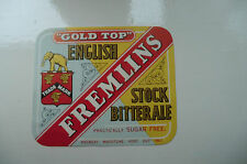 A FREMLINS SMALL STOCK BITTER ALE MAIDSTONE KENT BEER BOTTLE LABEL