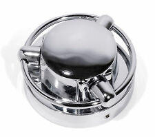Petrol cap cover Chrome Satellite Style cover for Harley Davidson + Japanese