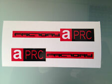 APRC Factory Stickers Decals for Aprilia RSV4 Front Fairing