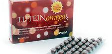Lutein omega 3 sano vista supplemento - 60 (DHA, zeaxanthin) 2 mesi di fornitura