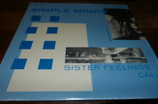 """SIMPLE MINDS - Vinyle Maxi 45 tours / 12"""" !!! SISTER FEELINGS CALL !!! VEP311 !!"""
