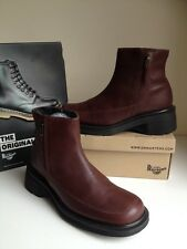 Vtg! Sz4 England DM's Dr. Martens 9278 Air Cushioned Soles Leather Ankle Boots
