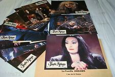 LA FAMILLE ADAMS !   jeu 12 photos cinema lobby cards fantastique