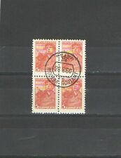Q105 - RUSSIA - 1956 - QUARTINA - CAT N °1910