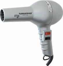 ETI 2000 Professional Hair Dryer Silver 1500W Long Cord, 1 Nozzle, 2 Speeds