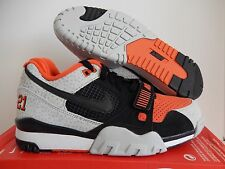 NIKE AIR TRAINER 2 PREMIUM QS BARRY SANDERS SZ 10.5 SAFARI RARE! [632193-00