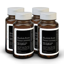 Rhodiola Rosea 2000mg - 12 months supply - Triple strength stress relief