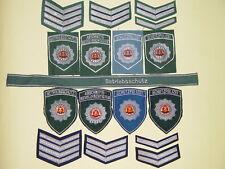 DDR Schutzpolizei Volkspolizei Betriebsschutz ABV - Abzeichen-Set