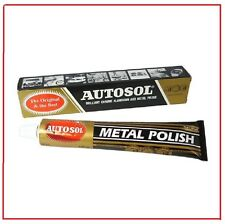 100g Autosol Solvol Chrome Polish Cleaner Aluminium & Metal Paste tube 75ml