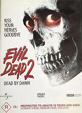 Evil Dead 2 Dead By Dawn Bruce Campbell Region 4 DVD VGC