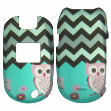 Pink Owls Gray chevron Case for  LG Revere Vn150 Phone Cover ::