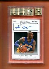 2013-14 PANINI SIGNATURES KOBE BRYANT AUTOGRAPH AUTO 20 MADE BGS 9.5/10 LAKERS