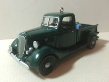 "HALLMARK USA KEEPSAKE ORNAMENT: ALL AMERICAN TRUCKS # 4 ""1937 FORD V-8"""