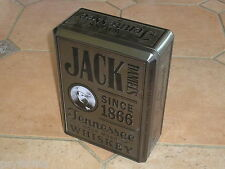 RARE Boite métallique Whisky Jack Daniel's / RAR whiskey Tin from France