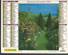 CALENDRIER DES POSTES - ALMANACH DU FACTEUR 1999 Z22