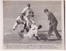 Cliff Mapes Gerry Priddy J. Lipon 1950  Wire ACME Press Photo Photograph Yankees