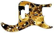 P Bass Precision Pickguard Custom Fender 13 Hole Guitar Pick Guard Clockwork 1