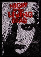 The Night of the Living Dead Embroidered Patch Horror Movie Woman Face Poster